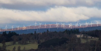 wind turbines signal decline of Scottish tourism